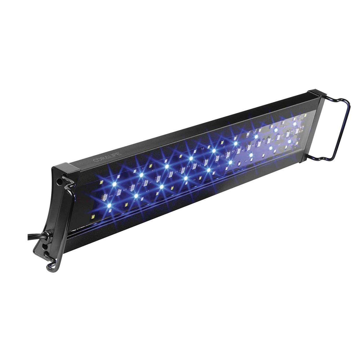 Coralife 13759 Aqua Light S LED Aquarium Light Fixture, 18'' x 24''