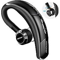 Mpow Auricolare Bluetooth 4.1 con CVC 6.0 Microfono, CSR Chip e Catturare Voce Chiara, 4 Tasti, Cuffia Bluetooth Senza Fili Regolabile 180°