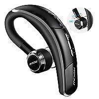 Mpow Auricolare Bluetooth 4.1 senza fili con microfono stereo, Nero