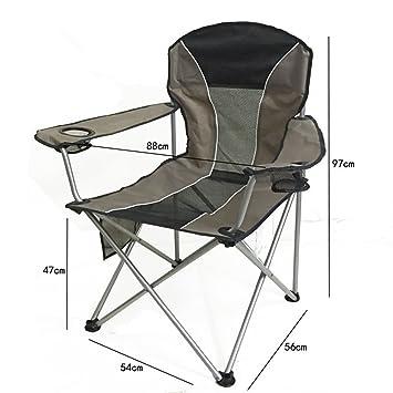 lwjgsaoutdoor plegable silla Super luz portátil pesca silla ...