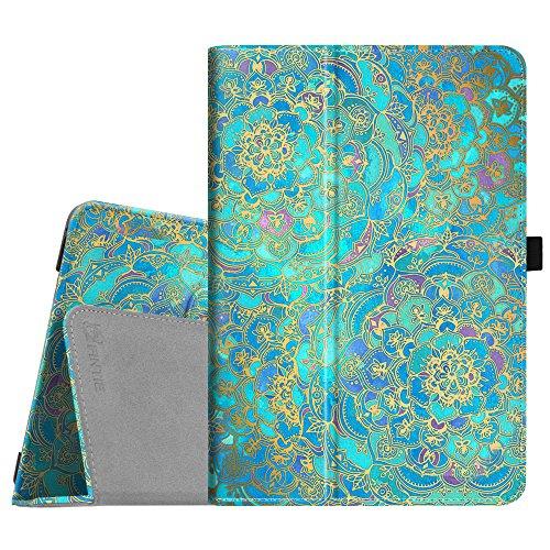 Fintie Asus ZenPad 3S 10 Z500M/ZenPad Z10 ZT500KL Case - [Slim Fit] Premium PU Leather Folio Stand Cover with Auto Sleep/Wake for ZenPad 3S 10/Verizon Z10 9.7-Inch Tablet, Shades of Blue