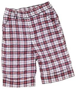 Käthe Kruse - Pantalones de peto para niño rojo de 93% algodón, 7% poliéster, talla: 98cm (3-4 años)