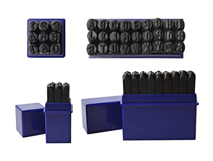 36 pc 14 6 mm steel stamps punch set for stamping metal letter