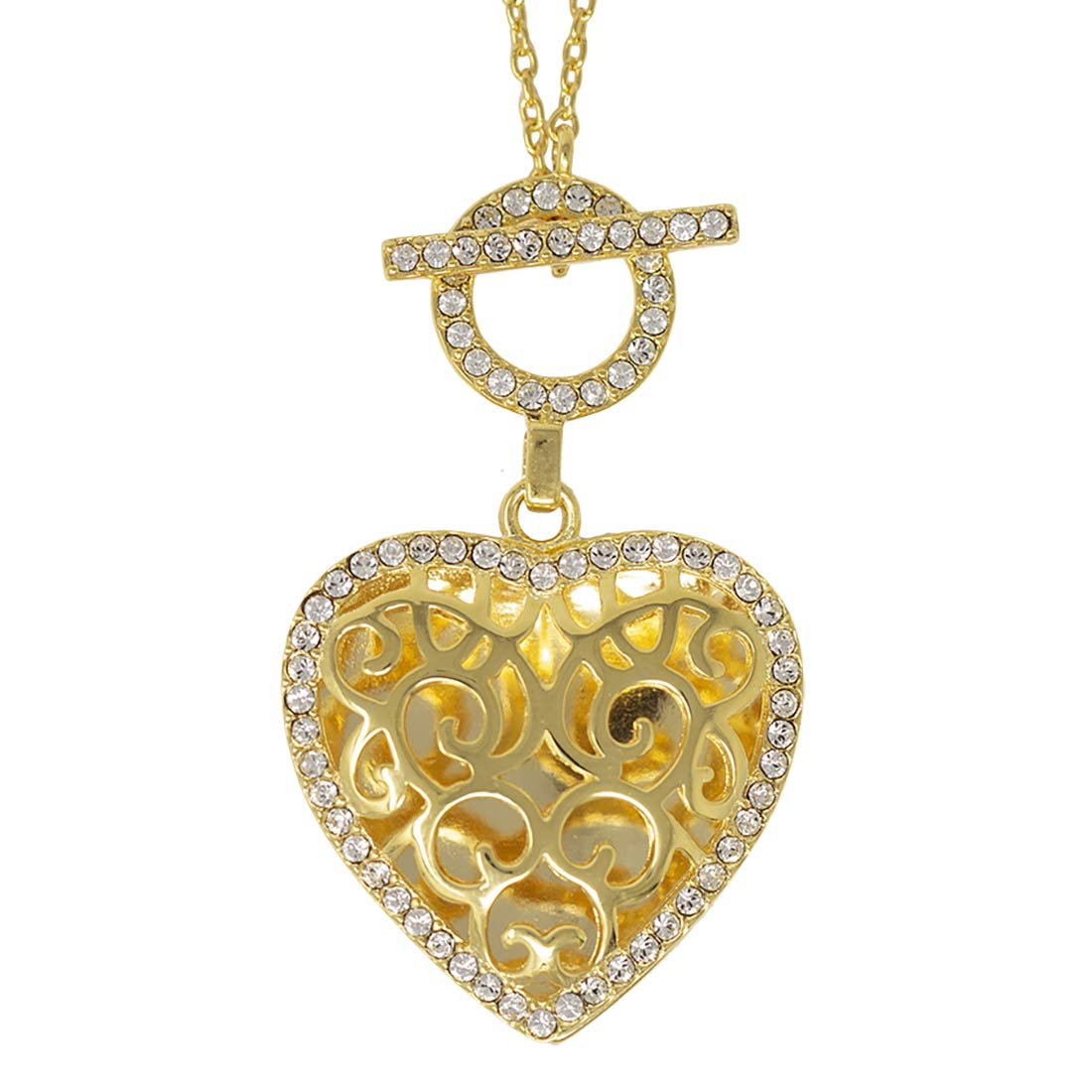 With You Lockets-Fine Yellow Gold-Custom Photo Locket Necklace-That Holds Pictures for Women-The Clara