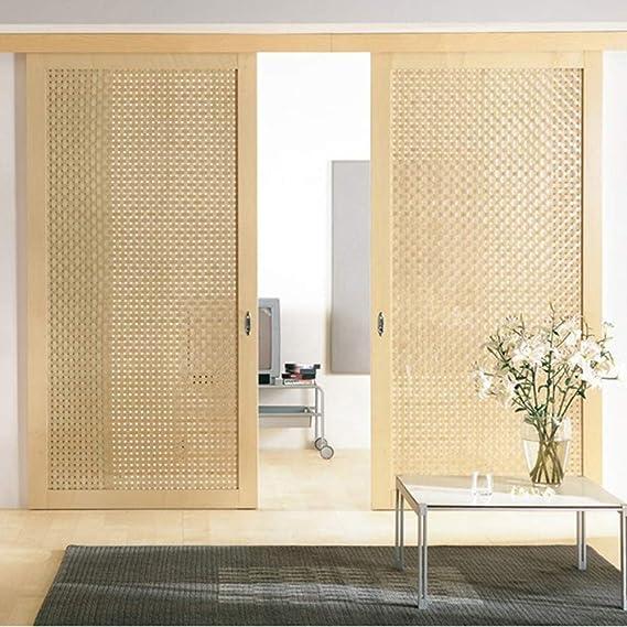 Furniture casters Puerta de Madera silenciosa de Cristal polea de ...