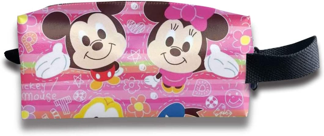 LIUYAN Toiletry Travel Bag Baby Mickey with Hat Storage Bag for Men Women Teens