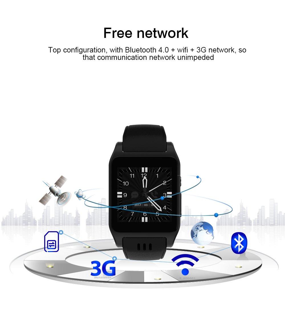 Amazon.com: x86 Reloj Inteligente Teléfono Android 5.1 OS 3 ...