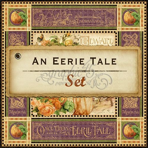 Graphic 45 An Eerie Tale Set of 11 sheets, 12 by 12-Inch ()
