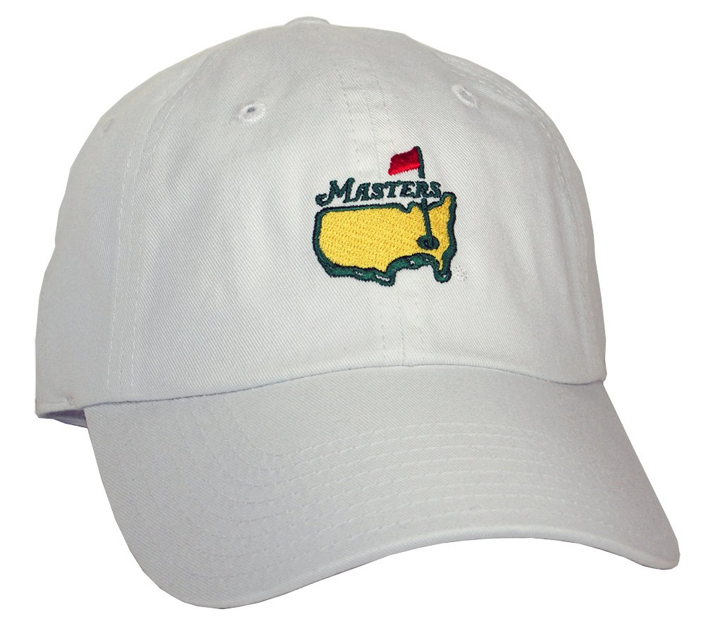 1e415ed1a38a5 Amazon.com   Authentic Masters Golf Hat (White)   Sports   Outdoors