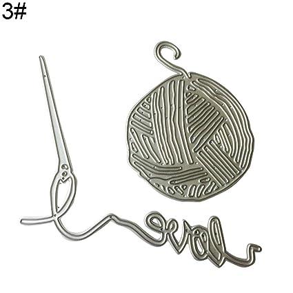 Buy Fashion Knitting Wool Needle Carbon Steel Cutting Die