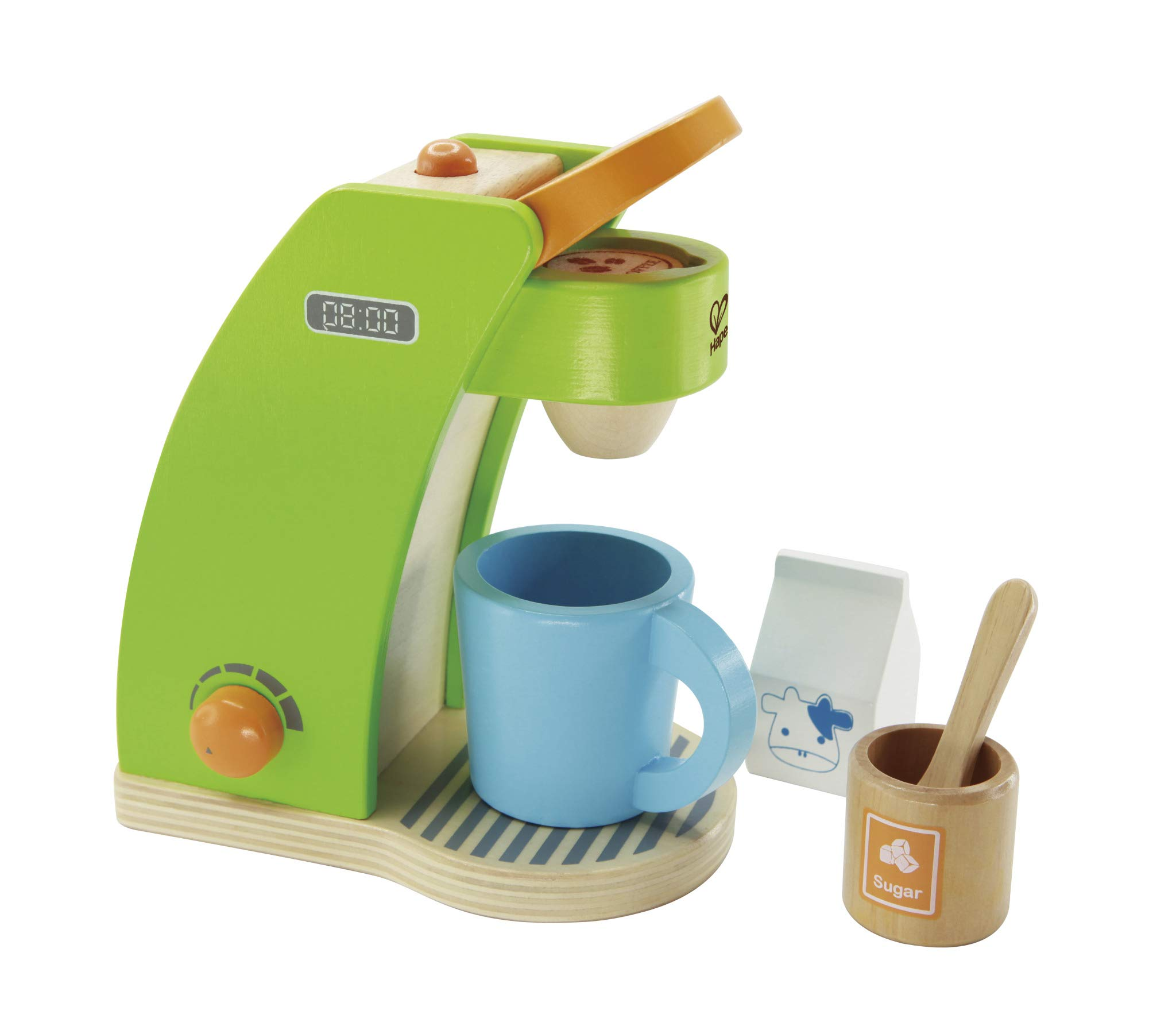 Hape Kid's Coffee Maker Wooden Play Kitchen Set with Accessories by Hape