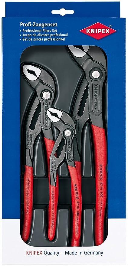 Knipex 87 01 400 SB - Tenazas Ajustables Cobra