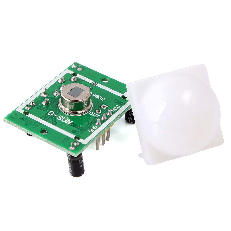 Neuftech 3pcs HC-SR501 PIR Módulo de Sensor de Motion por Infrarrojos Cuerpo Piroelectricidad Para Arduino Raspberry Pi: Amazon.es: Electrónica