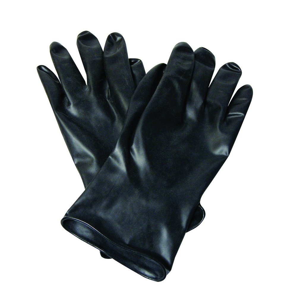 North by Honeywell 11'' Unsupported Chemical-Resistant Butyl Gloves with Smooth Grip, 13 mil, Size 9 (RWS-57012)