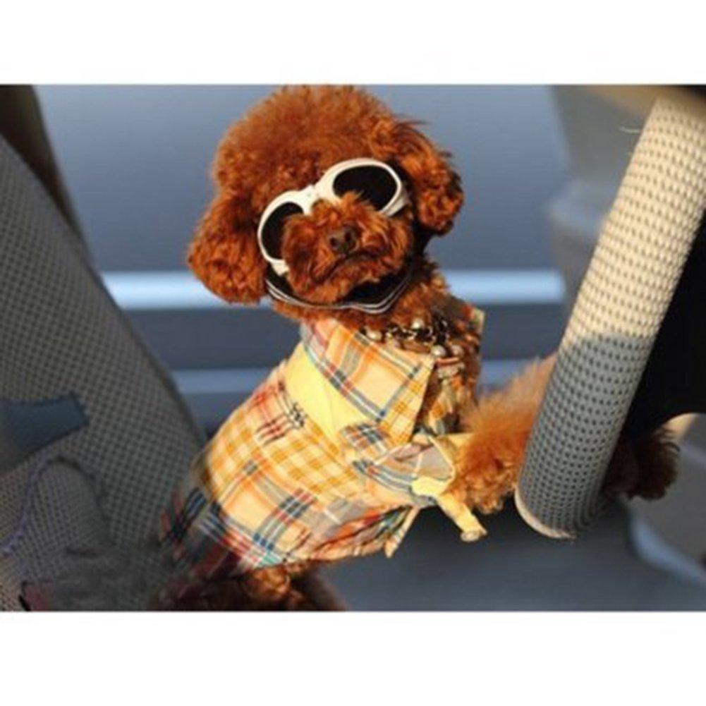 Lesypet élégante et d'amusement animal / Puppy Dog UV Lunettes de soleil Lunettes de protection imperméable Lunettes de soleil Pour Chien-Noir
