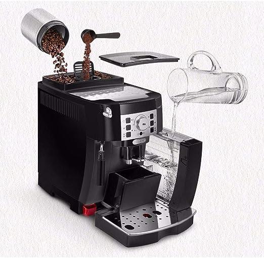 Kylinxsw Espresso Máquina de café, Espresso Italiano 15 Bar Cafetera con Leche espumejea, 1,8 l Tanque de Agua extraíble, Lavable Bandeja de Goteo for Cappuccino: Amazon.es: Hogar