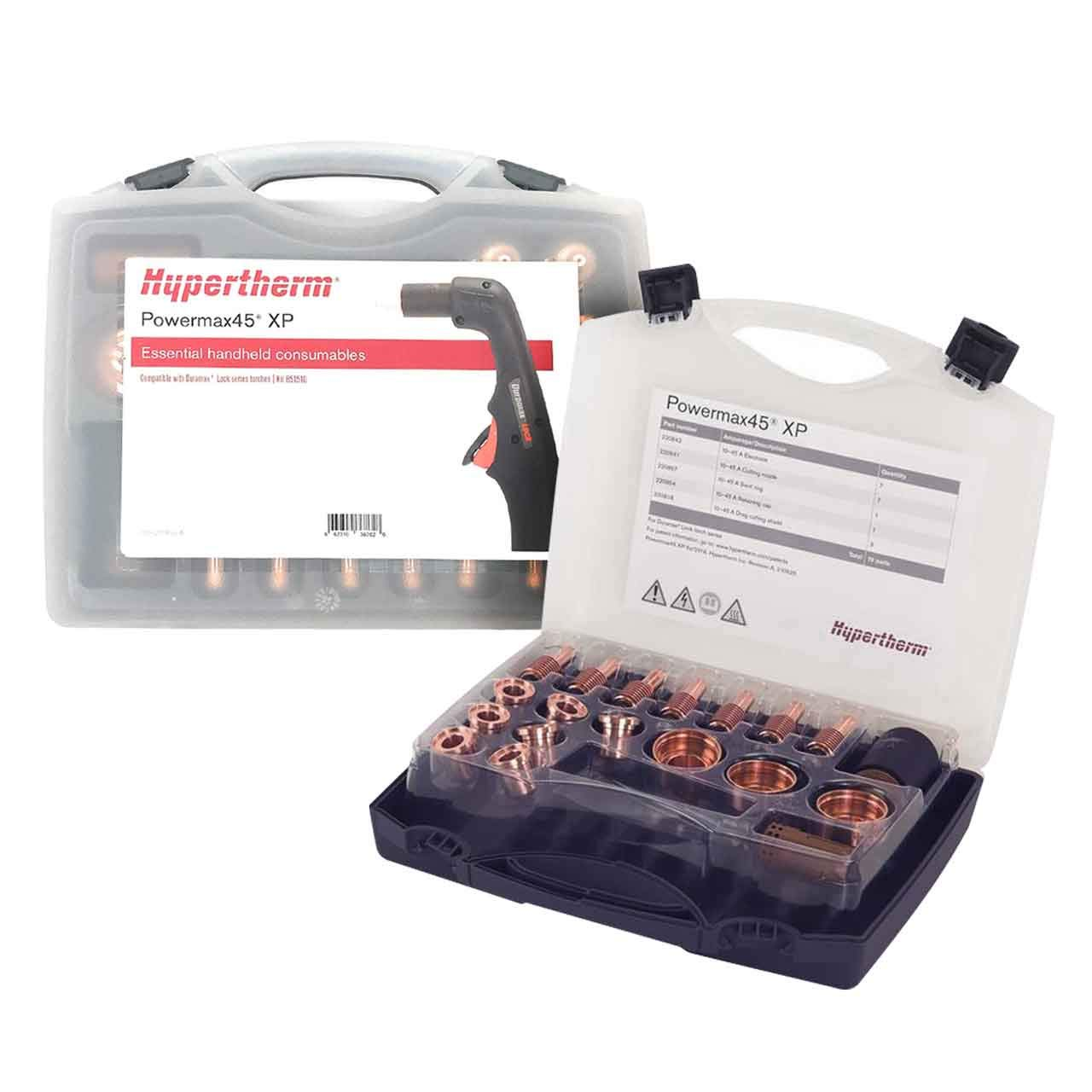 Hypertherm Powermax45 XP Essential Handheld Cutting Consumable kit by Hypertherm