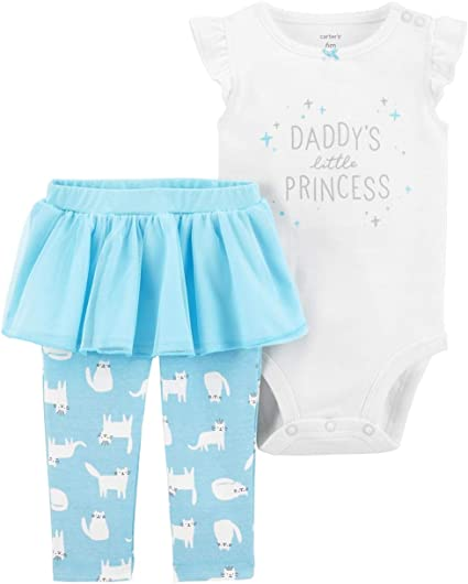 Real Love Girls Kitty Princess 2-Piece Leggings Set Outfit