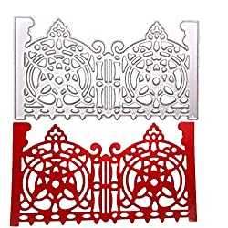 FORUU Die Cut, Metal Cutting Dies Stencils Scrapbooking Embossing Mould Templates Handicrafts DIY Card Making Paper Cards Best Gift New Snowflake Album