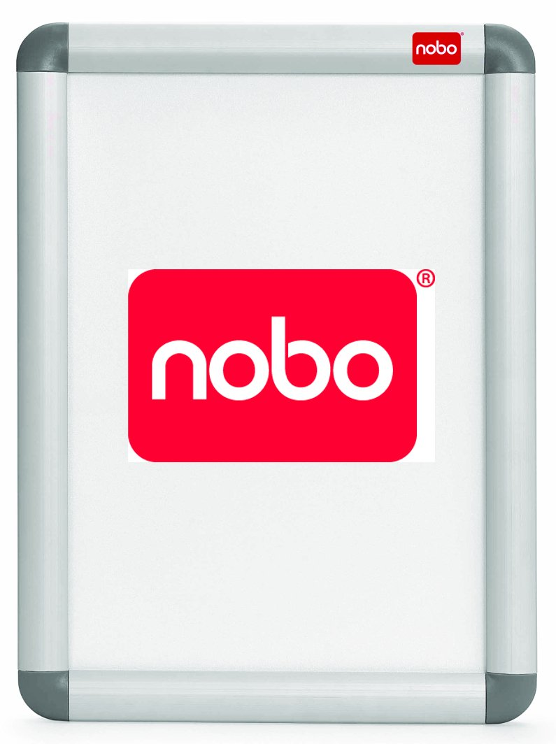 Nobo Anzeigetafel, mit Rahmen, Aluminium: Amazon.de: Bürobedarf ...