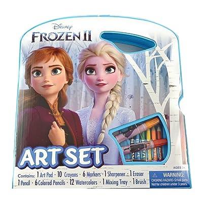 Bendon Disney Frozen 2 Character Art Tote Activity Set: Toys & Games