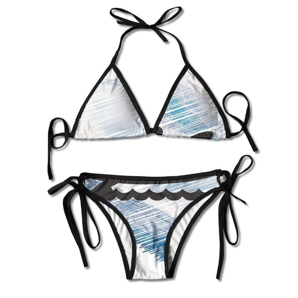 Kayak Sea Wave Heart Bikini Traje De Baño De Verano para ...