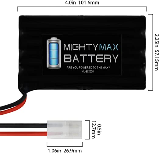 Mighty Max Battery 9.6V 2000mAh NiMH Replacement Battery for Matco Determinator #239180 Brand Product