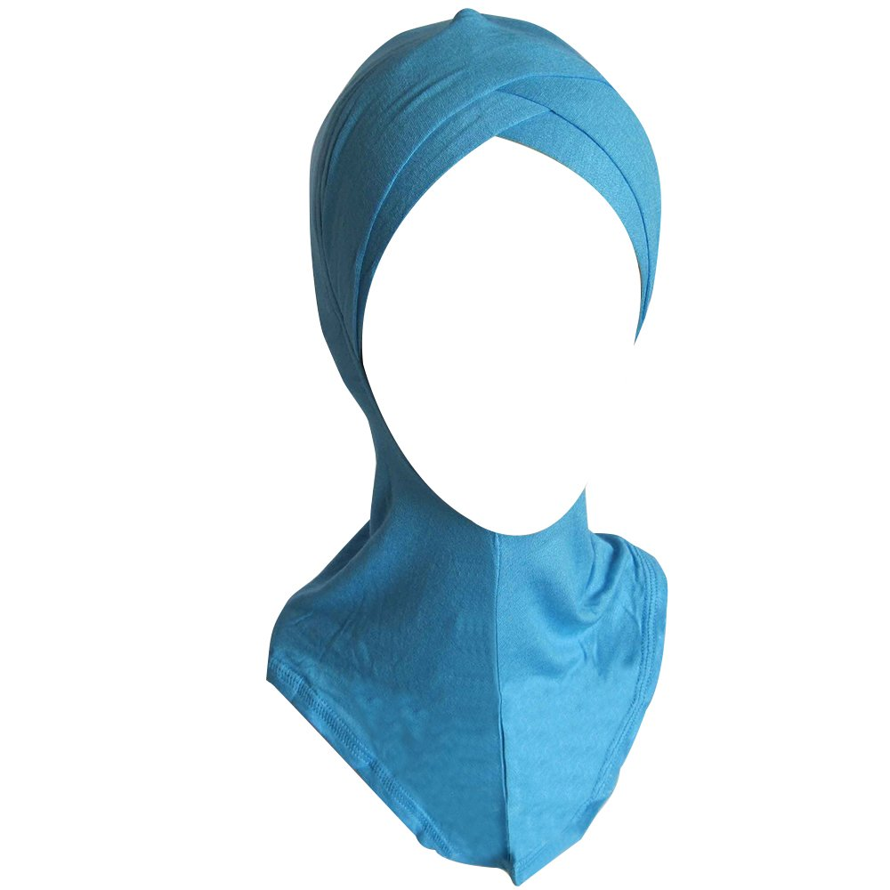 Fashion Women Muslim Scarf Full Cover Inner Hijab Cap Islamic Hat Underscarf Shengyuze