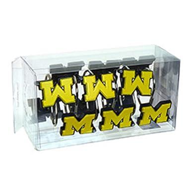 NCAA University Of Michigan Wolverines Shower Curtain Hook Hangers