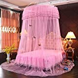 Mosquito Net Court Style Bed Canopy For Children Fly Insect Protection Indoor Decorative Height 3m Top Diameter 1m