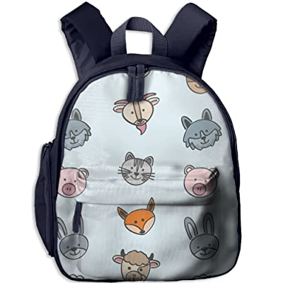 d7b44c3fb460 Kids Small Backpack Cute Funny Animal Toddler Child Nursery Mini ...