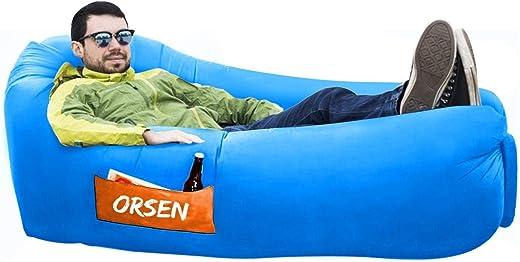 ORSEN Luft Couch, wasserdichtes aufblasbares Sofa