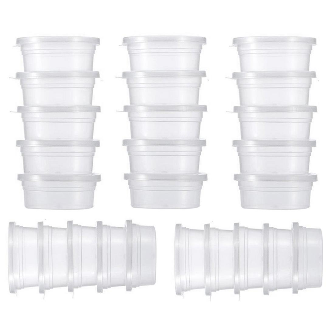 Laimeng B079NS141Y_世界25パックSlimeコンテナFoam BallストレージContainers with with Lids Laimeng B079NS141Y, 芦屋グレイス:020ba247 --- amlakerastin.com