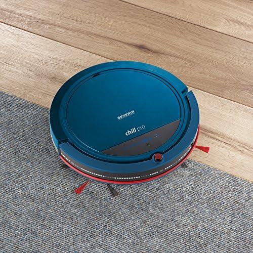 Blu//Rosso Include Set Premium con Stazione di Ricarica Telecomando con Funzione di Puntamento e Muro Virtuale S/´Special Chill Pro Severin RB 7028 Aspirapolvere Robot
