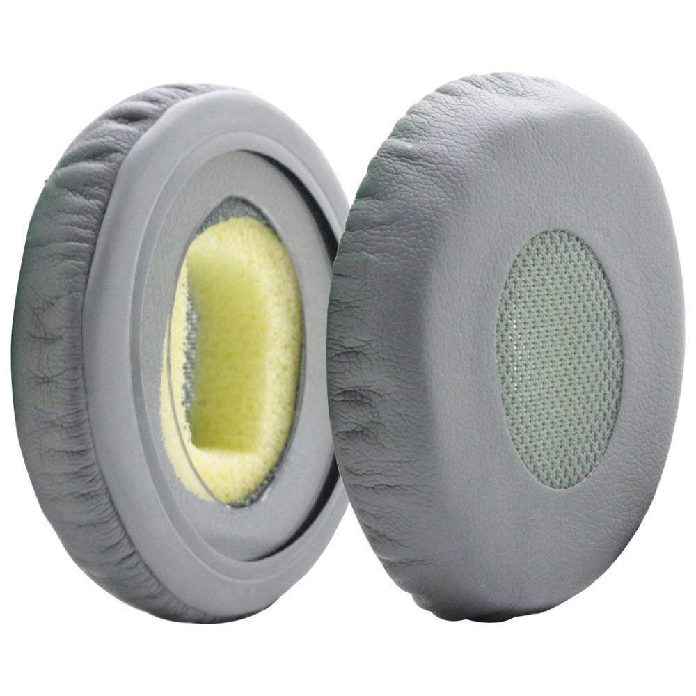 MMOBIEL Ear Pads Cushions Replacement for Bose Sound Link On-Ear Headset OE OE2 OE2i SoundTrue with Memory Foam Protein Leather (Gray) BOSE Sound link OE OE2 OE2i SoundTrue