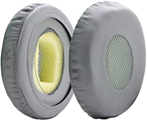 MMOBIEL Ear Pads Cushions Replacement Compatible with Bose Sound Link On-Ear Headset OE OE2 OE2i SoundTrue with Memory Foam Protein Leather (Gray)