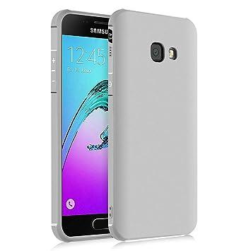 Hevaka Blade Samsung Galaxy A3 2017 Funda - TPU Carcasa Smart Case Cover Para Samsung Galaxy A3 2017 - Gris