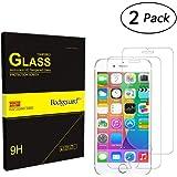 Bodyguard 2 Stück Panzerglas Schutzfolie für iPhone 7 iPhone 8, 9H Härte Displayschutz 99% Ultra-klar für iPhone 7 4,7'', Oleophobe Beschichtung gegen Öl, Schweiß oder Wasser (Nur flache Fläche)