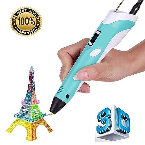 Bolígrafo 3D Alihua 3D para dibujar y dibujar, para niños y ...
