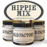 Scented Candles – Hippie Mix – Set of 3: Cannabis, Incense, and Bag O Cookies – 3 x 4-Ounce Soy Candles – Each Votive Candle is Handmade in the USA with only the Best Fragrance Oils