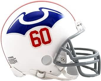 Amazon.com : Riddell NFL New England Patriots Helmet Mini ...