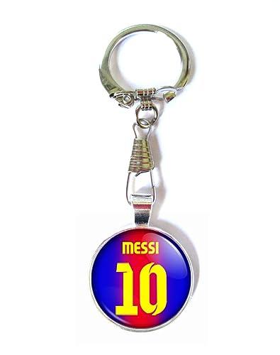 Ausländische Vereine Schlüsselanhänger  mit Aufdruck FC Barcelona aus Metall