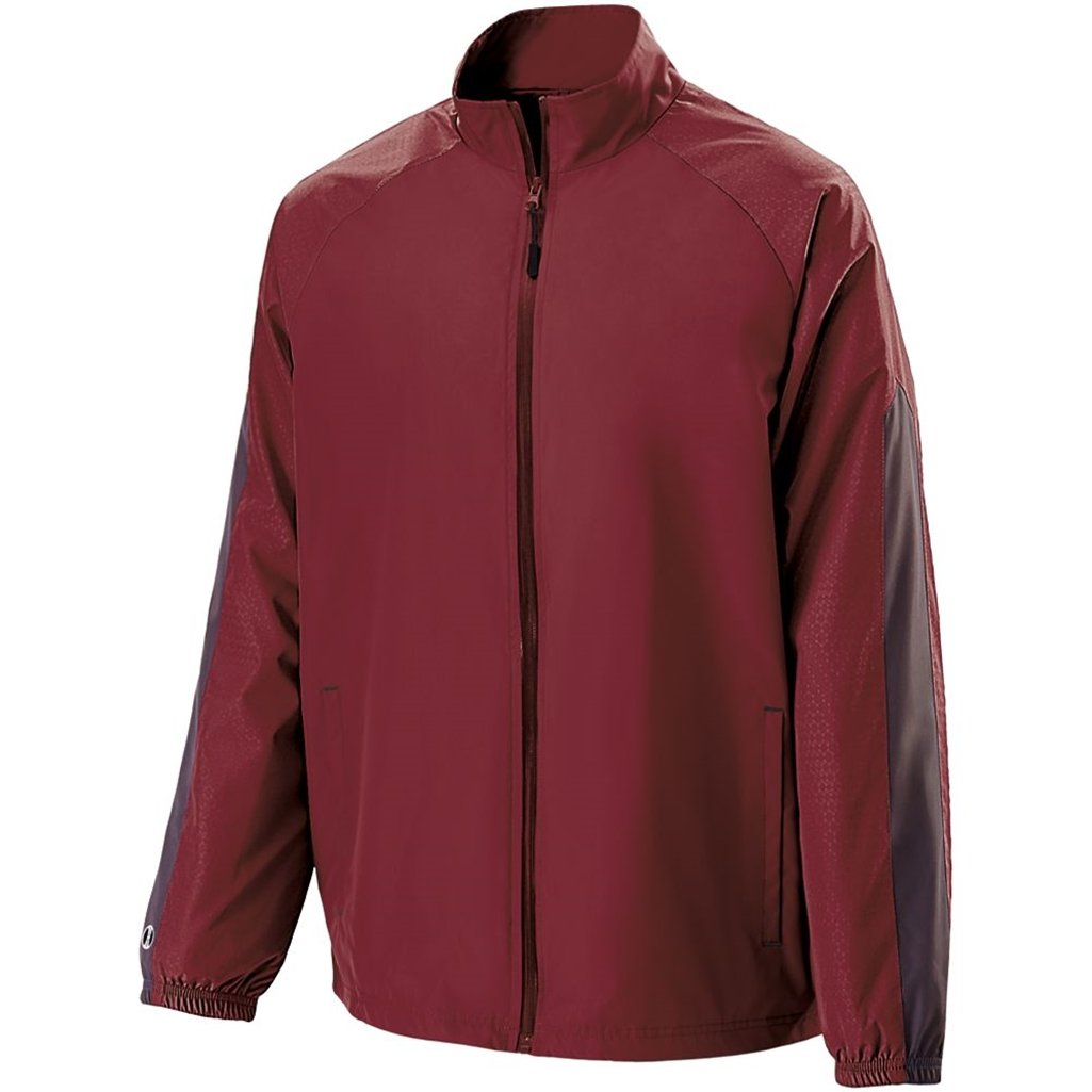 Holloway Youth Bionic Jacket (X-Large, Cardinal/Carbon) by Holloway