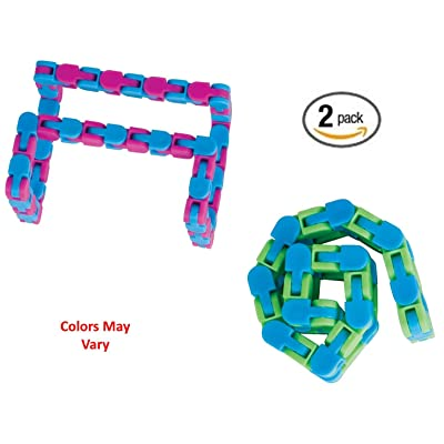 Toysmith Wacky Tracks, Assorted Colors (2 Pack): Toys & Games
