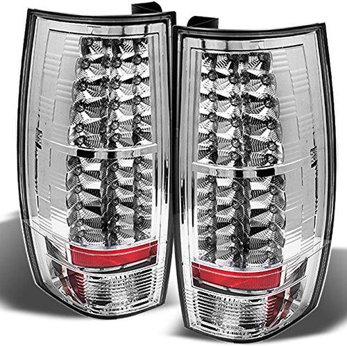 For 07-14 Suburban Tahoe Yukon Yukon XL Denali Rear LED Tail Lights Brake Lamps Replacement Pair