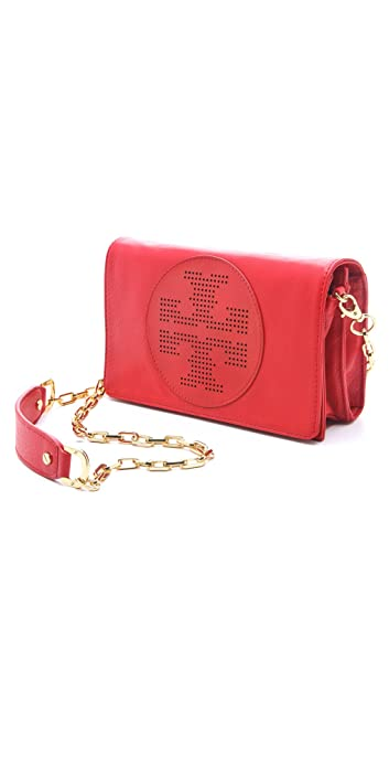 6593f6fb207 Image Unavailable. Image not available for. Color  Tory Burch Kipp Crossbody  Bag Red New