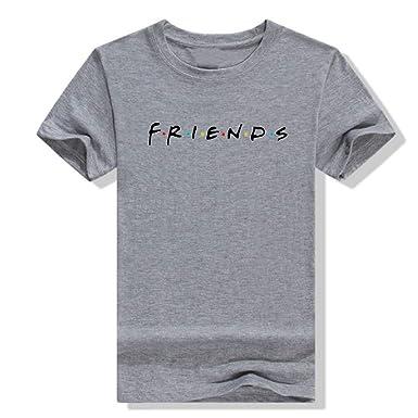 Camisas Mujer, Tallas Grandes T Shirt Manga Corta Impresión ...