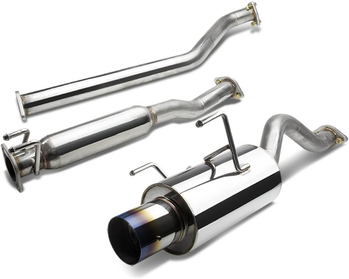 Resonator Pipe Muffler Exhaust System Fits 2002-2006 Acura RSX 2.0L
