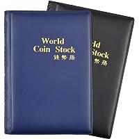 Dokpav Album Monedas Coleccion Monedas, 2 Pack, 240