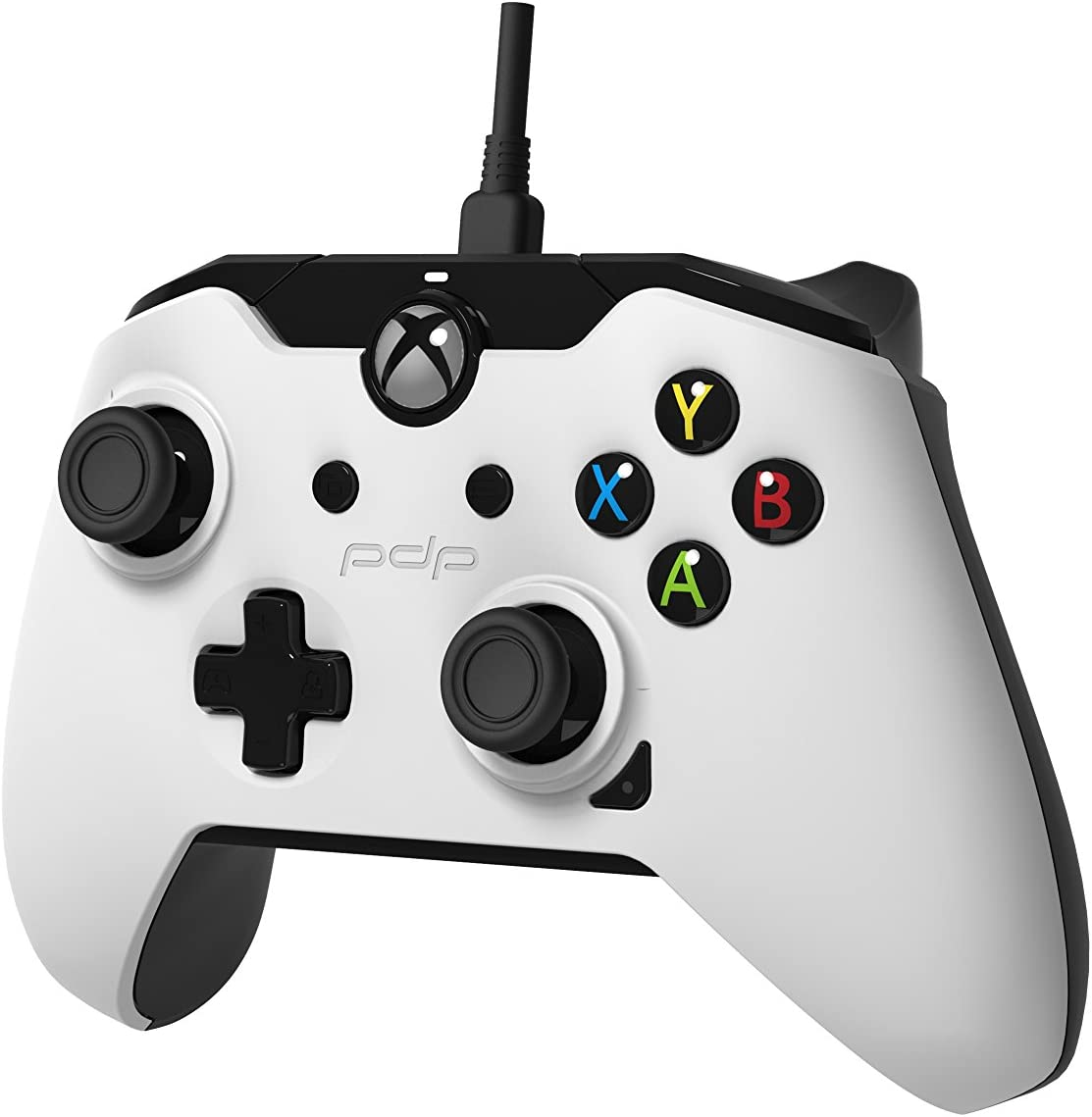 Amazon.com: PDP Wired Controller for Xbox One & Windows - White ...